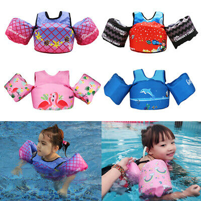 Baby Floats for Pool Kids Life Jacket for Infant Toddler Swim Vest with Arm Wing (Life Vest Pool)