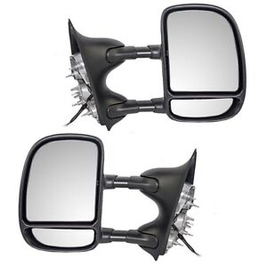 1999-2007 FORD Superduty Power Telescopic Towing Mirrors