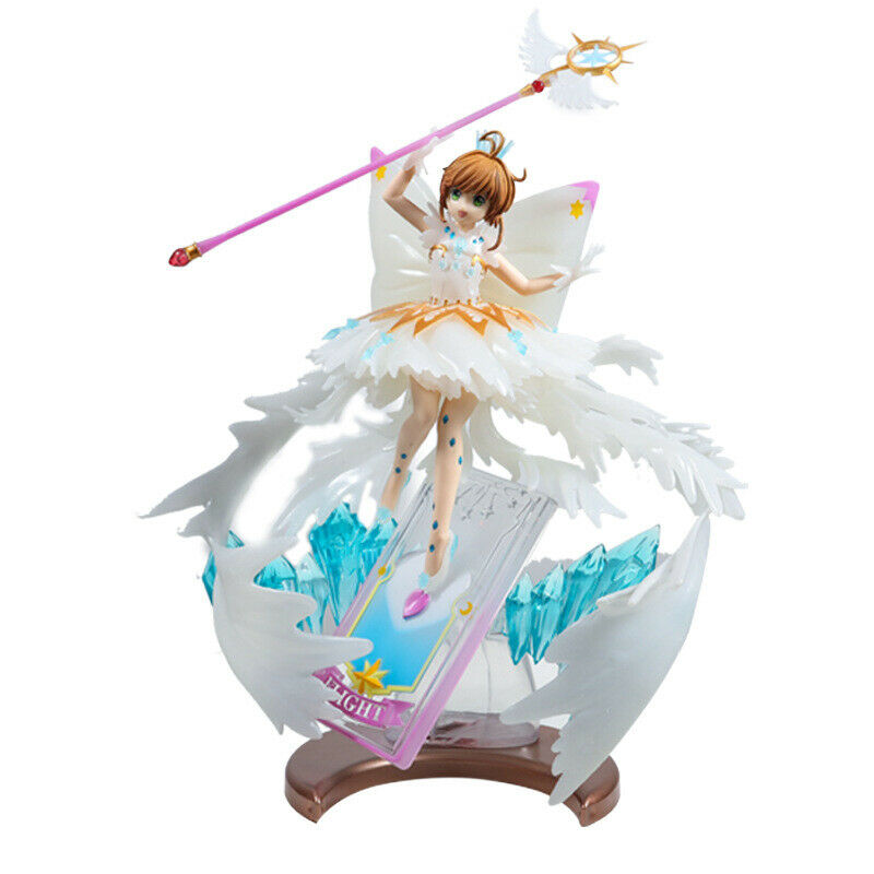 Anime Card captor Sakura Figure Model Sakura Kinomoto PVC Girl Statue Toy Gifts