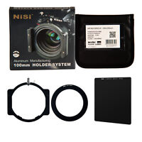NiSi 77mm ND1000 Kit 100mm Optical Glass ND Square Filter as LEE