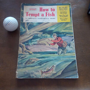 The Art of Angling, Tiny Bennett 1970/How To Tempt A Fish Kitchener / Waterloo Kitchener Area image 2