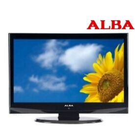 Alba 26inch LCD TV with integrated DVD player with Freeview