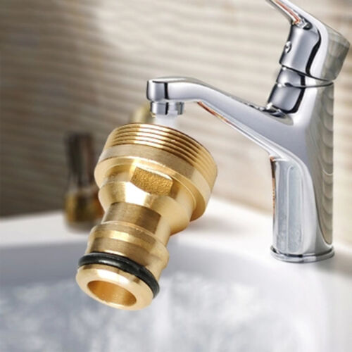 23mm Sink Faucet Brass Tap Adaptor Water Hose Pipe Connector