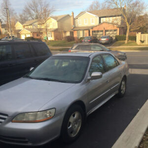 2001 Honda Accord Must Go