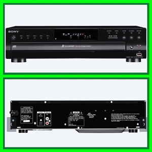 SONY  5 DISC DVD PLAYER