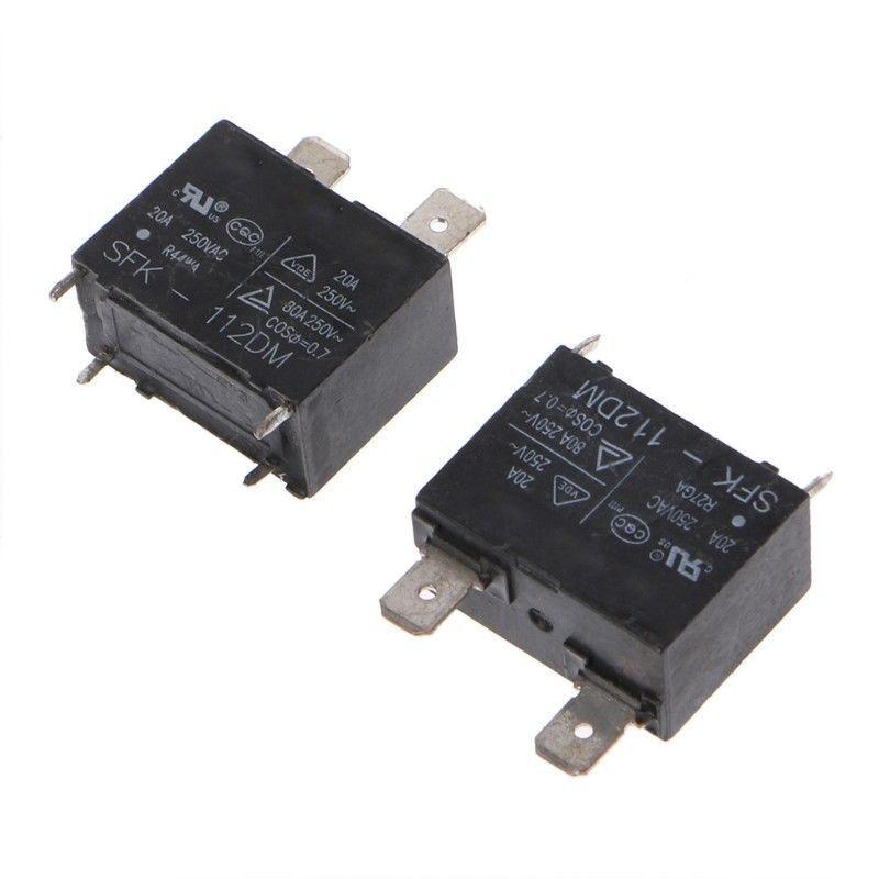 New 2 Pcs SFK-112DM SFK-112 20A 250V AC DIP-4 Relay Module