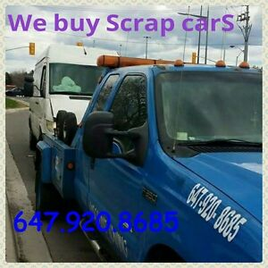 Scrap cars removal  647 920 8685 http://scrapcarsgta.ca/