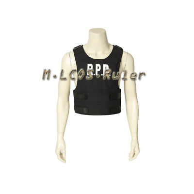 Resident Evil 2 Cosplay Costume Leon Scott Kennedy Halloween Suit Accessories  ](Halloween Leone)