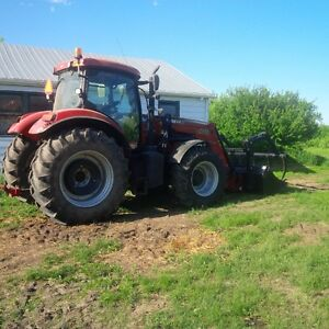 2013 Case IH Puma 160 F.W.A. Tractor, excellent condition