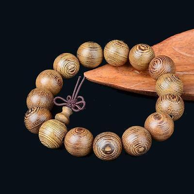 Cool String Bracelets (Wenge bracelets hand string Buddha beads Wooden crafts 18mm For Cool)