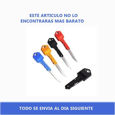 Navaja para llavero, en varios colores, cuchillo de bolsillo, Knife, Navajas.