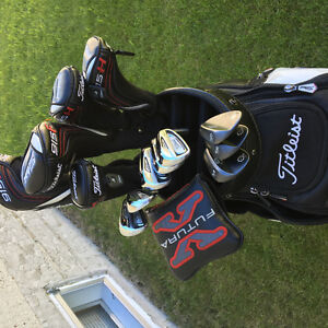 Titleist golf clubs and staff bag for sale, complete set