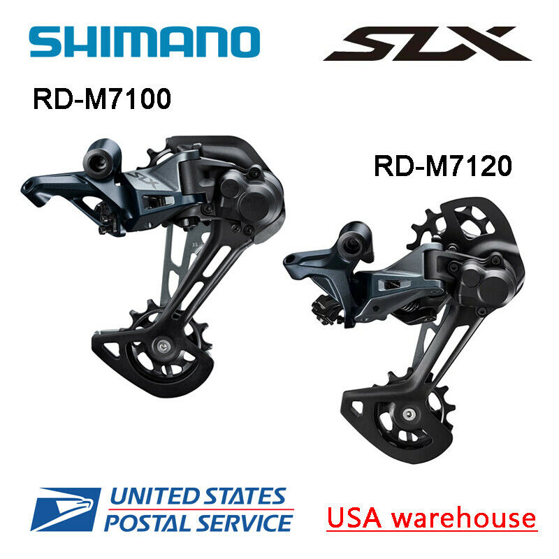 Shimano SLX RD-M7100 RD-M7120 SGS 12 Speed Rear Derailleur Long Cage MTB (OE)