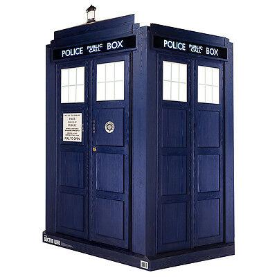 TARDIS 3D Doctor Who Dr. Who Quick Setup 3-D Lifesize CARDBOARD CUTOUT Standup