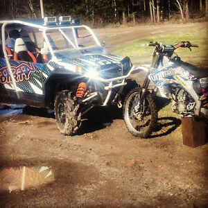 One of a kind rzr 800turbo!!