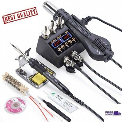 2 In 1 750w Soldering Station Lcd Digital Display Welding Rework For Cell-phone