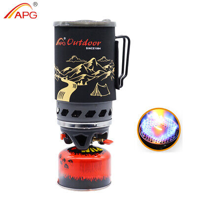Used, +1400ml Portable Camping Gas Stove Cooking System Backpacking Stoves Burner APG for sale  Shipping to Nigeria