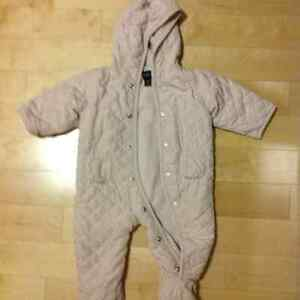 6 to 12 months girls outer wear coat jacket onsie warm from Gap
