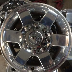 "Four 17"" aluminum rims for Ram 2500/3500"