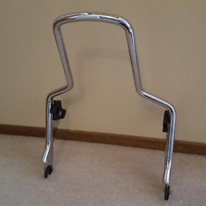 Harley Detachable Touring Sissy Bar & Back Rest