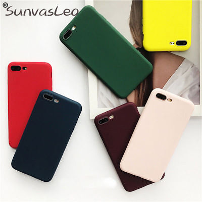 Colorful Candy (Colorful Candy Matte Silicone Case TPU iPhone  Huawei Soft Case Cover)