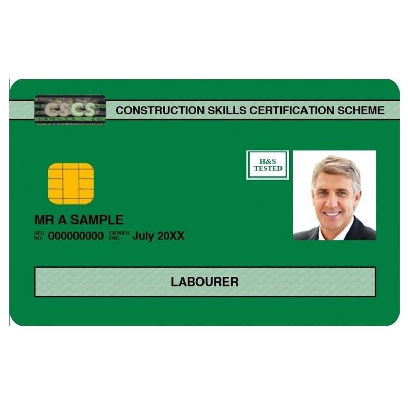 Same day CSCS Card & 1 day Health & Safety Level 1 course.
