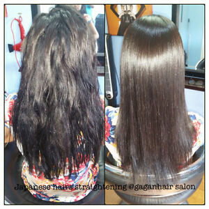 JAPANESE HAIR STRAIGHTENING KERATIN TREATMENT OLAPLEX TREATMENT Peterborough Peterborough Area image 2