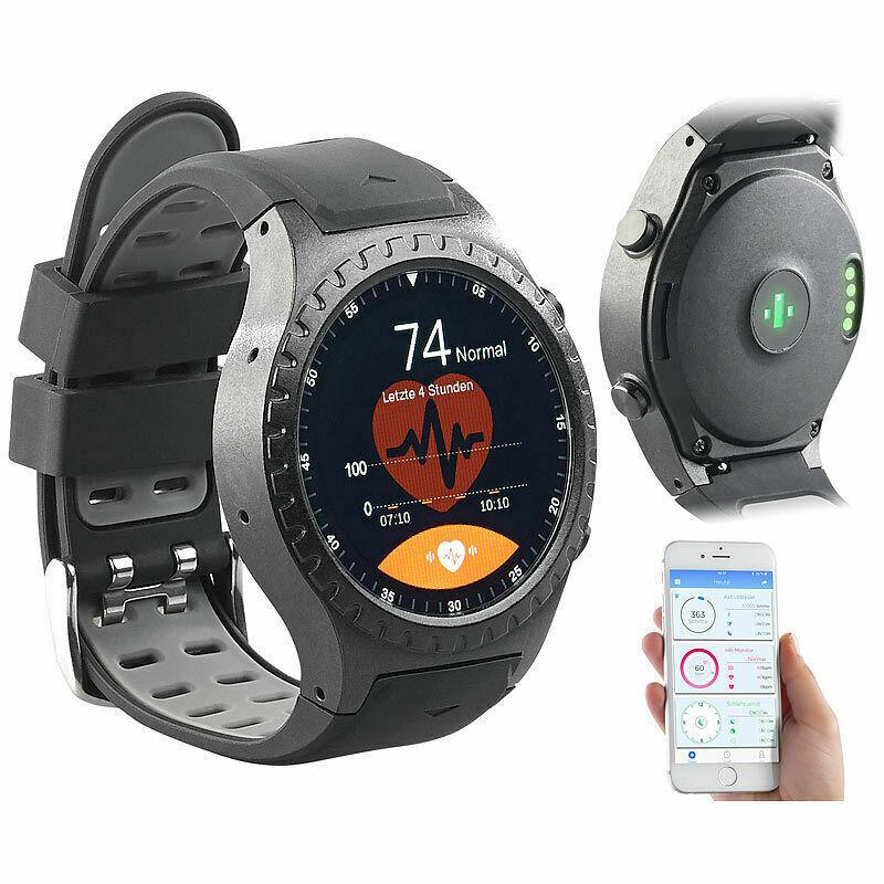 NEU OVP GPS-Handy-Uhr & Smartwatch für iOS & Android, Bluetooth, Herzfrequenz