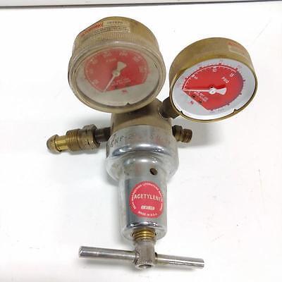 Oxweld Trimline Acetylene Gauge Wks