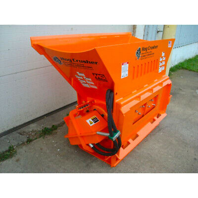Hog Crusher Concrete Crusher Attachment - Crush Concrete With Your Skid Steer