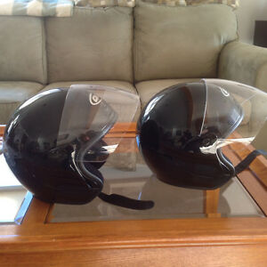 Two CKX Helmets With Visors