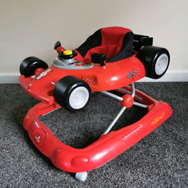 Baby car walker.