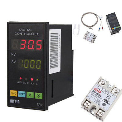 Display Digital Pid Temperature Controller6ft 25a Relayk E J Type Thermocouple