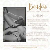 Limited Boudoir Photogrpahy Sessions
