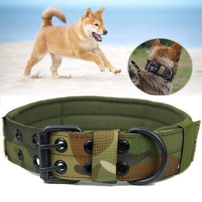 Verstellbare Taktische Hundehalsband mit Metallschnalle Hunde Training
