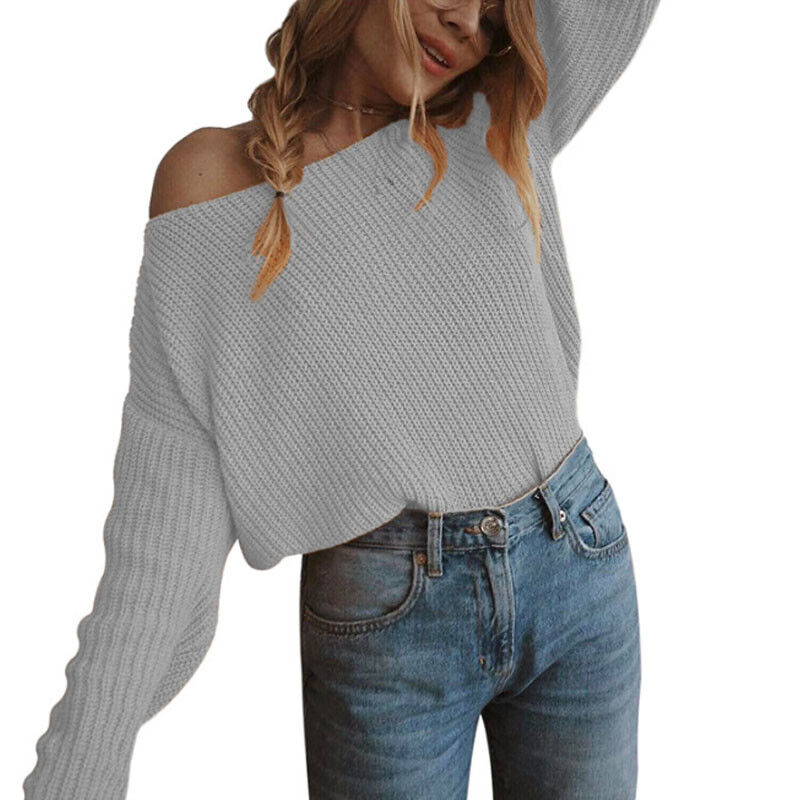 Buy Othyroce Womens Off The Shoulder Sweater Pullover Sweaters Fashion Sweatshirts for Women and other Fashion Hoodies amp Sweatshirts at Amazoncom Our wide