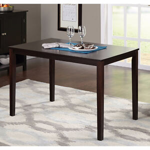 BRAND NEW IN BOX Espresso Solid Wood Dining Table