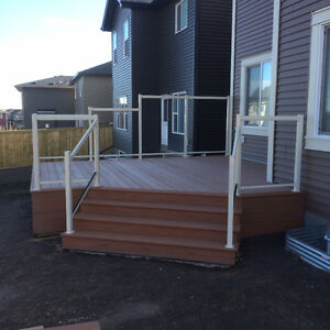 Deck Construction, Landscaping and Patios