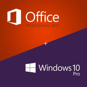Windows 10 pro & Office 2016 Clean Install