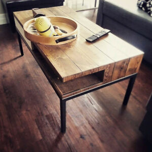 custom built furniture coffee dining table barn board rustic bed
