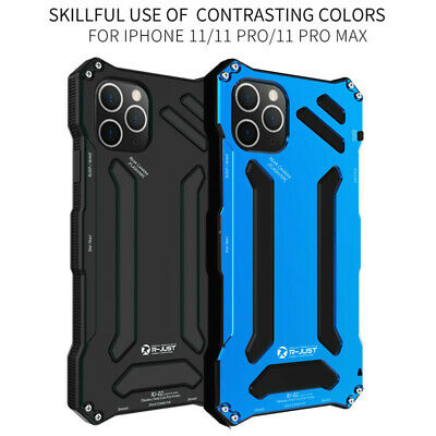Metal Waterproof Shockproof Case Cover For iPhone 7 8 Plus X XS XR XI 11 PRO Max
