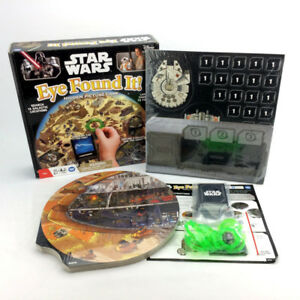 Star Wars Eye Found It Hidden Picture Board Game Kids Disney