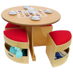 wayfair.ca....5 Piece Table and Stools Set by A+ Child Supply