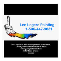 Painter ... trusted and experienced