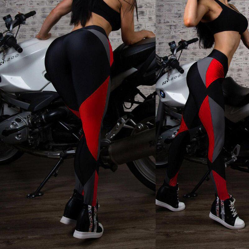 Leggings - US Seller Fashion Women's Sports Gym Yoga Running Fitness Leggings Pants Workout