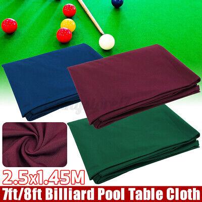 7/8ft Single-side Billiard Table Pool Table Cloth Felt Snooker Table Accessories
