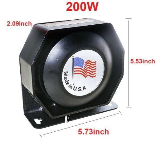 New Siren Speaker, Brand New. 200 Watt Power Rated for any Siren or P.A. Amp