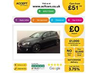 Volkswagen Golf GTD FROM £51 PER WEEK!