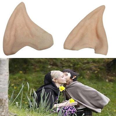 Funny Halloween Costume Ear Tips Elf Fairy Vulcan Spock Alien Cosplay Toys Cute