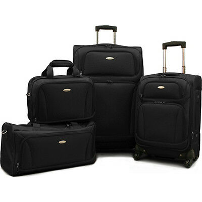 Samsonite 4 Piece Lightweight Luggage Set (28 Inch, 20 Inch + Duffel & Boarding)